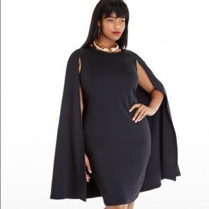 Fashion To Figure Cape Dress 3X